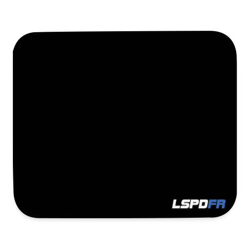 LSPDFR Logo Mousepad - Mouse pad Horizontal