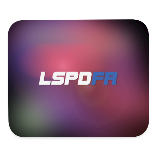 LSPDFR Abstract Mousepad - Mouse pad Horizontal