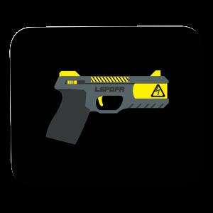 LSPDFR Stun Gun Mousepad - Mouse pad Horizontal
