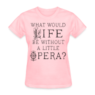 T-Shirts ~ Women's T-Shirt ~ Funny Opera Music T-shirt