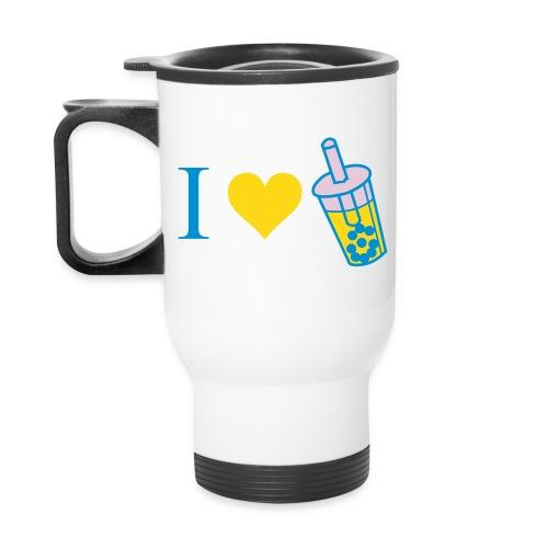 Boba Mug (Yellow and Blue) - Travel Mug