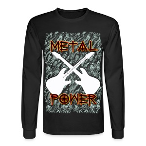 Metal Power - long sleeve - Men's Long Sleeve T-Shirt