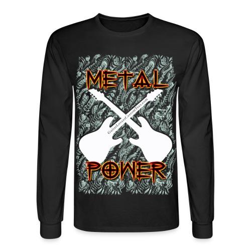 Metal Power - long sleeve - Men's Long Sleeve T-Shirt