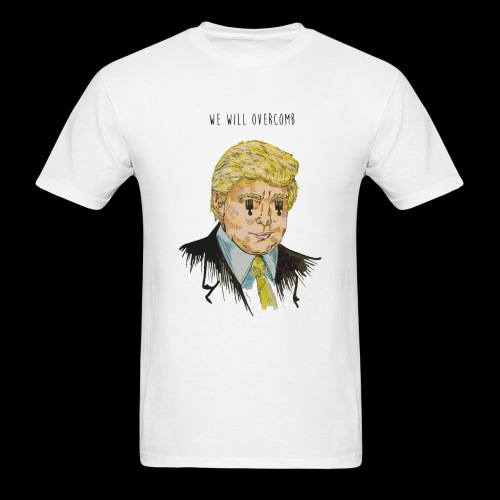 We Will Overcomb - Men's T-Shirt