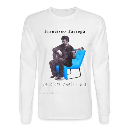 Tarrega's Musical Chair 2 - long sleeve - Men's Long Sleeve T-Shirt