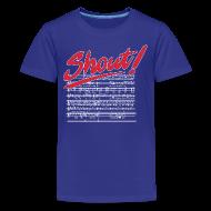 Kids' Shirts ~ Kids' Premium T-Shirt ~ Shout!