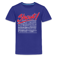 Kids' Shirts ~ Kids' Premium T-Shirt ~ Shout!