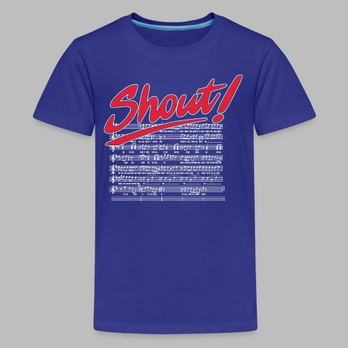 Shout! - Kids' Premium T-Shirt