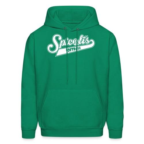 Spicoli's Softball Lightweight Hoodie (Green) - Men's Hoodie