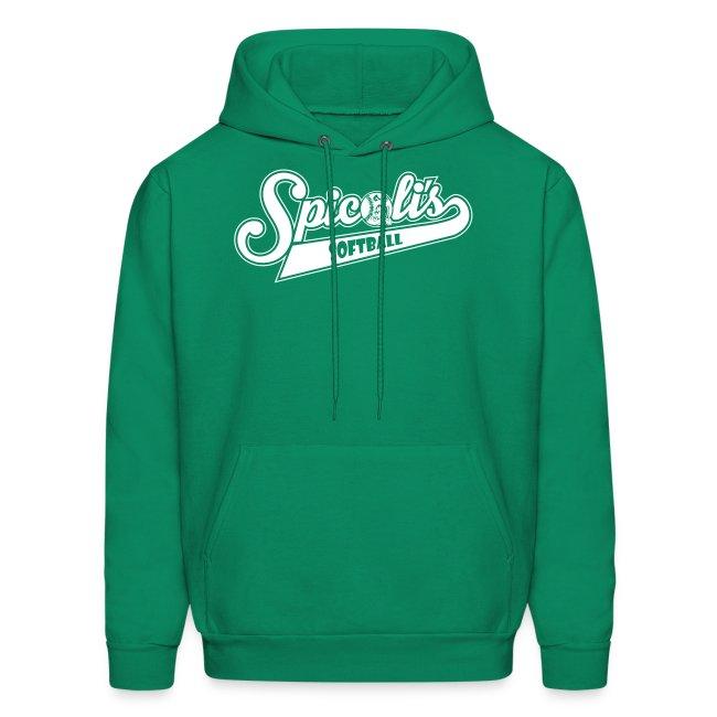 Spicoli's Softball Lightweight Hoodie (Green)