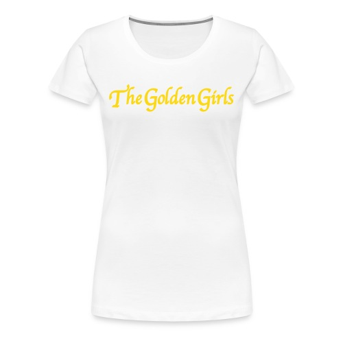 The Golden Girls Tee (Womens) - Women's Premium T-Shirt