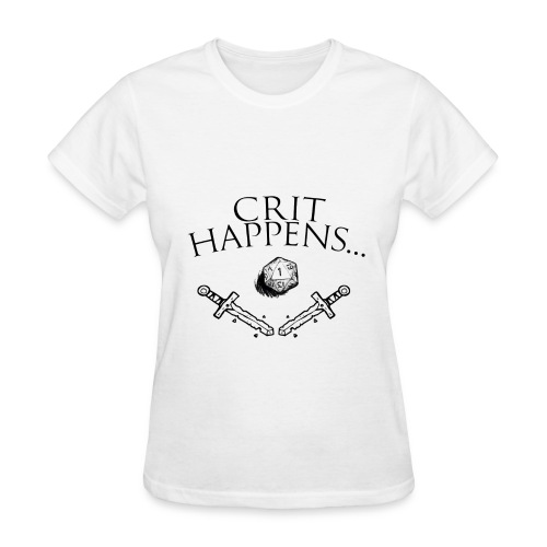 Crit Happens... (Womens) - Women's T-Shirt