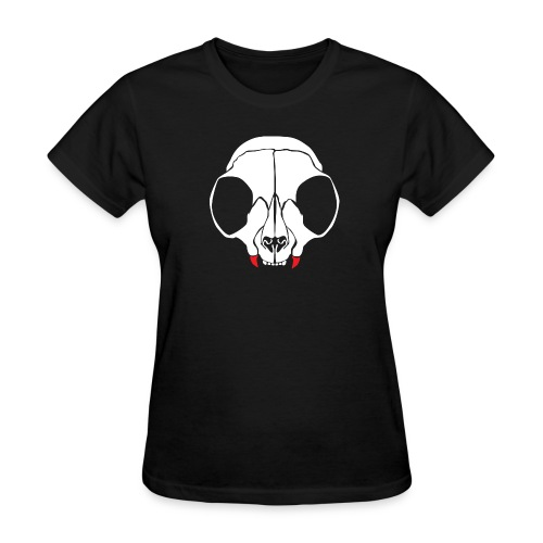 Dead men can't catcall (w/back) - Women's T-Shirt