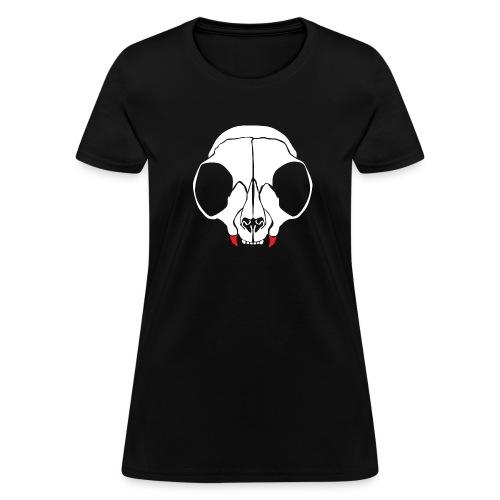 Dead men can't catcall (w/back) - Women's T-Shirt