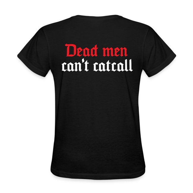 Dead men can't catcall (w/back)