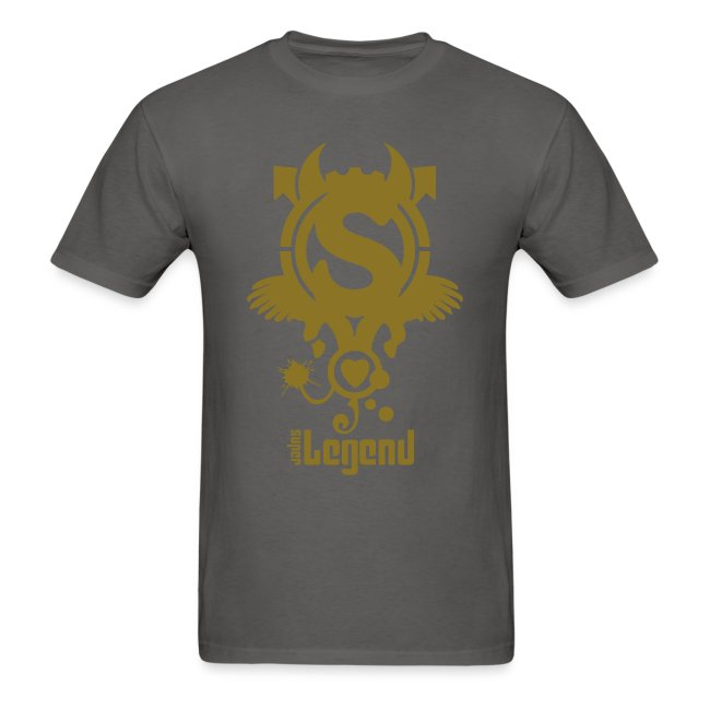 SUPERLEGEND MAN - front print gold - s/xxl - multi colors