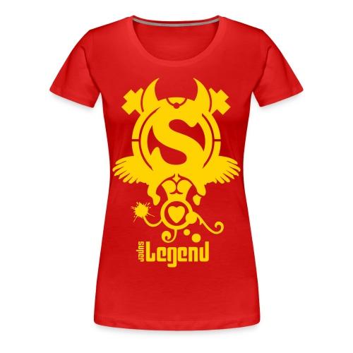 SUPERLEGEND WOMAN - front print - s/3xl - multi colors - Women's Premium T-Shirt