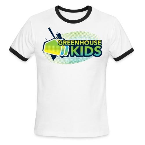 GHKids Halftone Sleeved - Adult - Men's Ringer T-Shirt