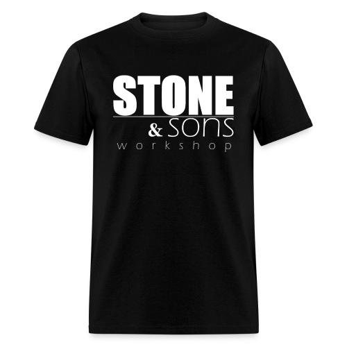 Stone & Sons Men's T-shirt (white logo) - Men's T-Shirt