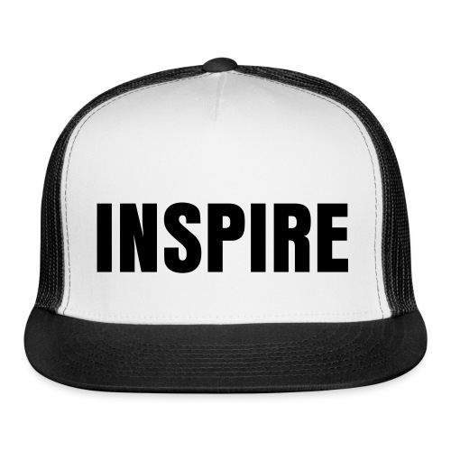 Be What Inspires You: LIVE TO INSPIRE - Trucker Cap