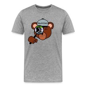 Sleuth Premium Kodiak Bear Tee - Men's Premium T-Shirt