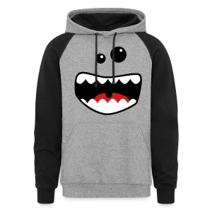 monster mouth Hoodies - Colorblock Hoodie