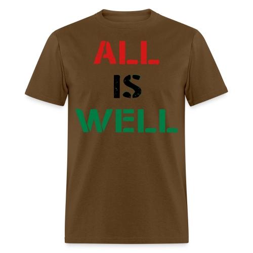 All is Well RBG Men's Shirt - Men's T-Shirt