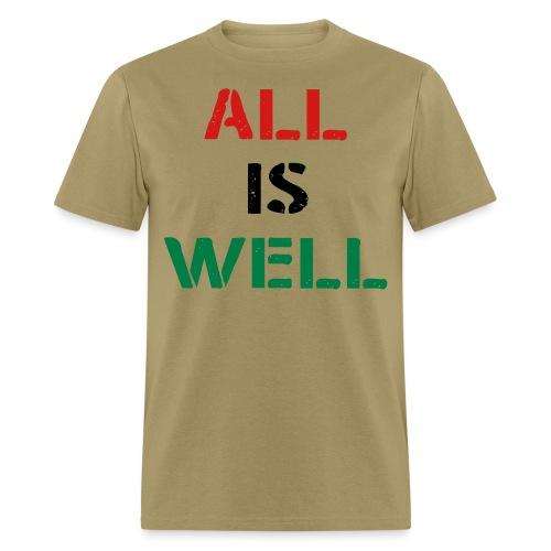 All is Well RBG Khaki Men's Shirt - Men's T-Shirt