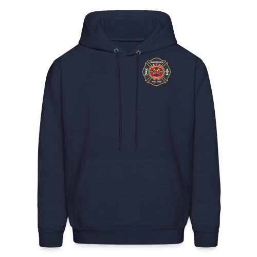 RVFD Firefighter Maltese Men's Hoodie - Men's Hoodie