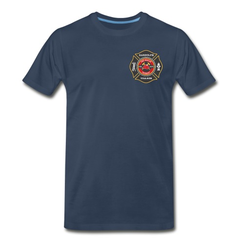 RVFD Firefighter Big and Tall Mens Maltese Tee - Men's Premium T-Shirt
