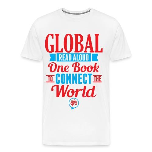 Men's Premium Global Read Aloud Shirt - Men's Premium T-Shirt