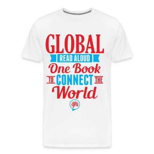 Men's Premium Global Read Aloud Shirt - Men's Premium T-Shirt