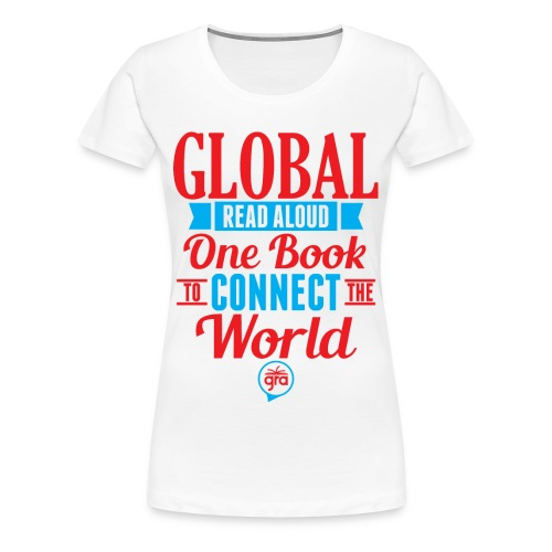 Women's Premium Global Read Aloud - Women's Premium T-Shirt