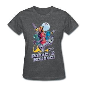 Robots & Rockets (Womens) - Women's T-Shirt