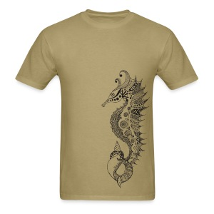 South Seas Tribal Seahorse Men's T-Shirt - Men's T-Shirt