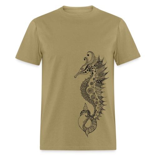 South Seas Tribal Seahorse Men's T-Shirt - Men's T-Shirt
