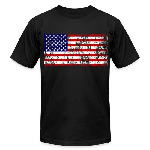 Freedom Flag - Men's Fine Jersey T-Shirt