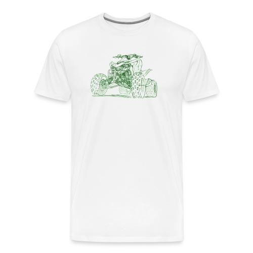 Kaw KFX450R 2009 - Men's Premium T-Shirt
