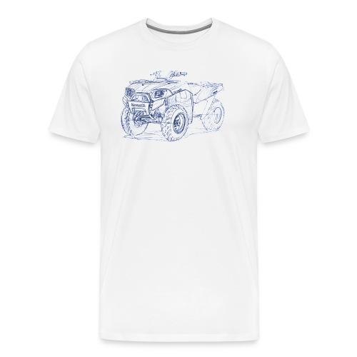 Kaw BruteForce 650 2009+ - Men's Premium T-Shirt