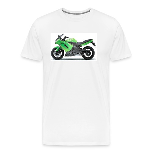 Kaw ER6f Ninja650 2008+ cracked - Men's Premium T-Shirt