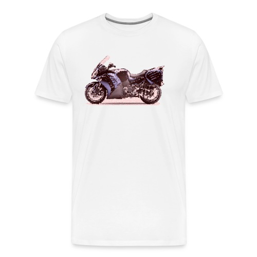 Kaw Concours 14  2010 Cracked - Men's Premium T-Shirt