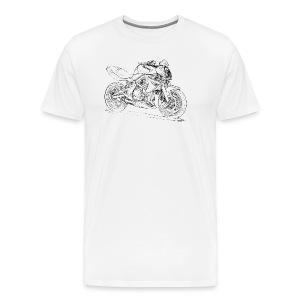 Kaw ER6n 2008 - Men's Premium T-Shirt