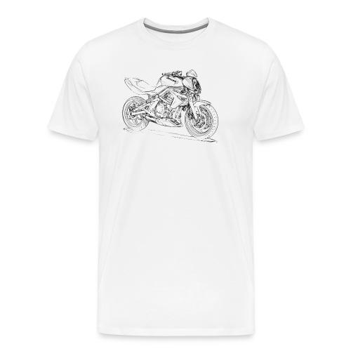 Kaw ER6n 2008 - Men's Premium T-Shirt