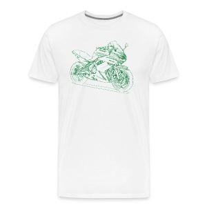 Kaw ER6f 2010 - Men's Premium T-Shirt