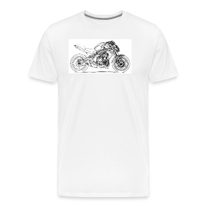 Kaw ER6n 2012 - Men's Premium T-Shirt