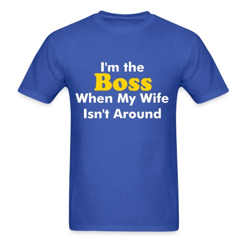 The Boss - Men's T-Shirt