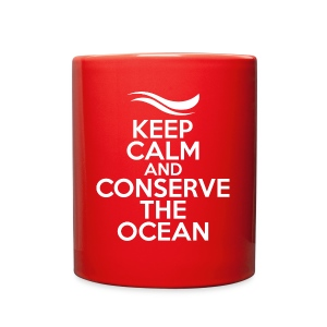 Keep Calm and Conserve the Ocean - Mug - Full Color Mug