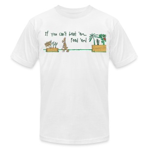 If You Can't Beat 'em Feed 'em v2 - Men's Fine Jersey T-Shirt