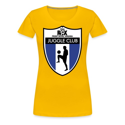 Women's ROX Juggle Club - Blank - Women's Premium T-Shirt
