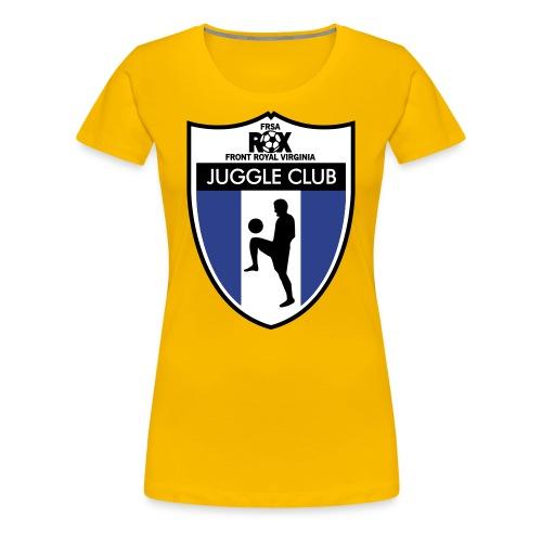 Women's ROX Juggle Club - Blank - Women's Premium T-Shirt
